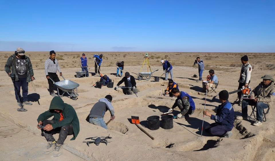 The archeological activities during the field season of 2019