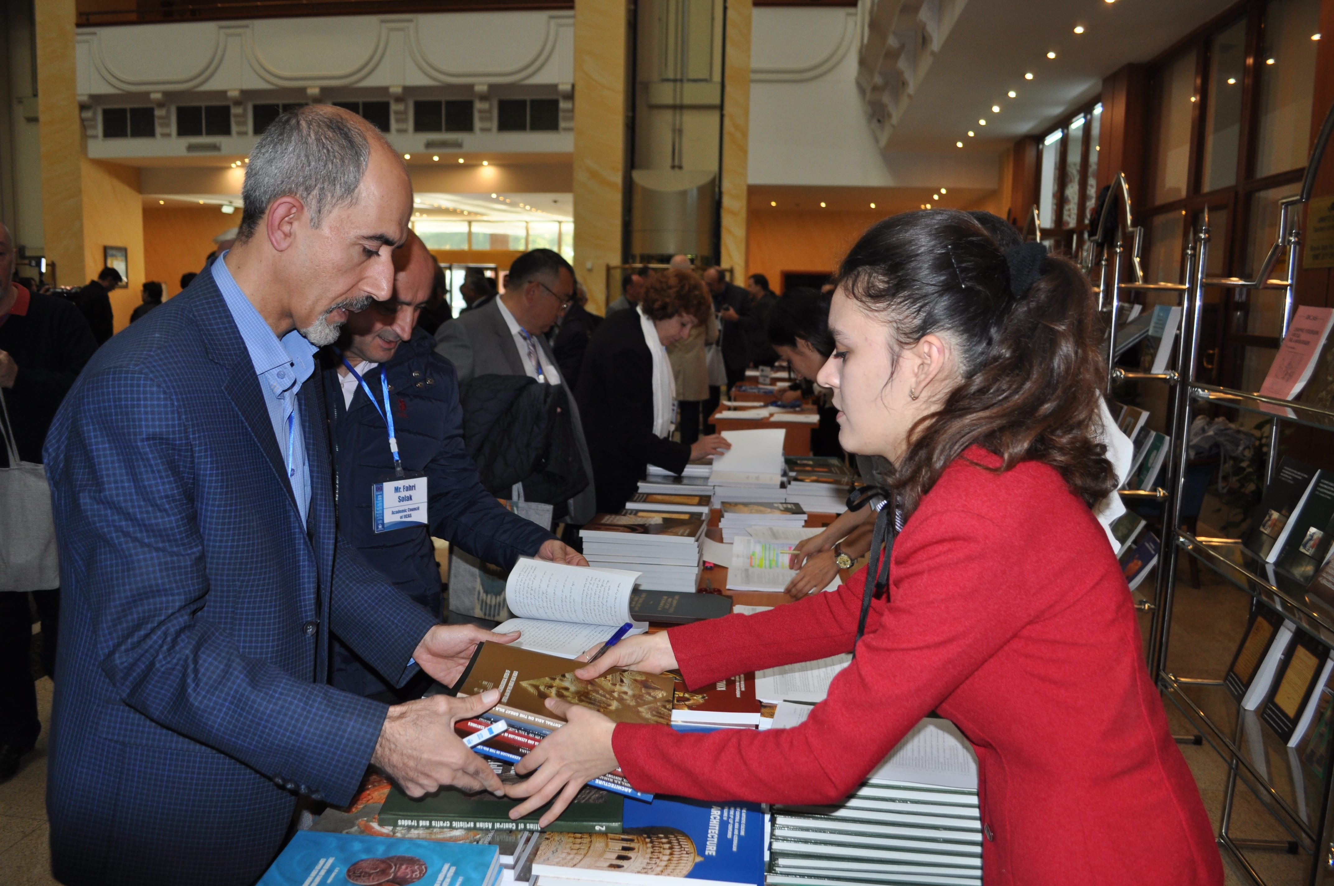Distribution of the publication. Scientific Conference. Samarkand, 2018