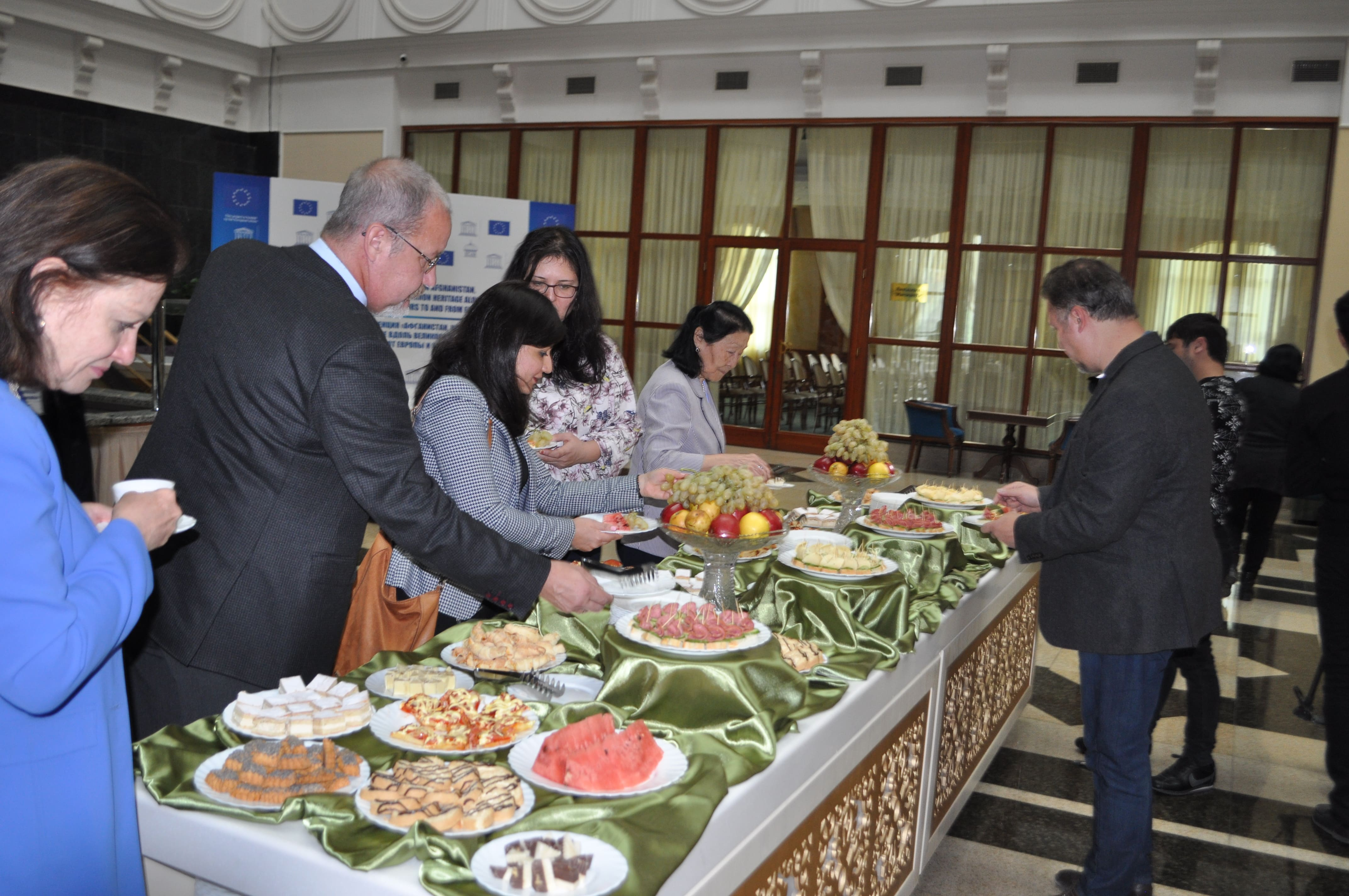 Coffee break. Scientific Conference. Samarkand, 2018